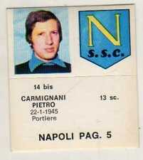 FIGURINA GOAL CREMA 1976//77-FIORENTINA-PAG 4-CASARASA 10 bis-GOLA 9 bis