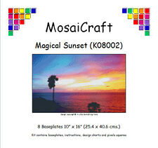 MosaiCraft Pixel Craft Mosaic Art Kit 'Magical Sunset' Pixelhobby