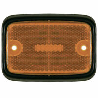 Empi 98-9509 Side Marker Lens Type 2 Vw Bus 1975-1979, Amber/Black, Each