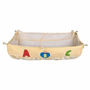 Dazzle Born Baby khoya Cradle Cloth Baby zoli with Mosquito net ((Yellow) Color