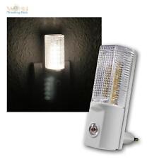 Luz Nocturna LED con Sensor de Día/Noche, Iluminación Nocturna, Blanco Cálido