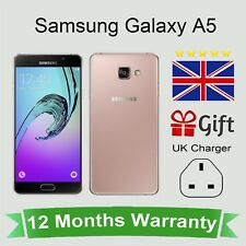 Unlocked Samsung Galaxy A5 2016 Android Mobile Phone - 16GB Pink