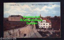 118764 AK Augustusburg Schellenberg Schloss Litho 1899 Abgebrannte Stadt Kirche