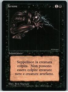 Terror | MtG Magic Revised Edition FBB Foreign Black Border | Italian | NM-