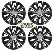 "14"" Universal Rapide Wheel Cover Hub Caps x4 Ideal For Renault GTA"