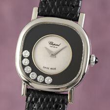 Chopard Happy Diamonds Lady 18K (0,750) Gold Damenuhr Ref. 50896 Klassiker