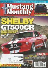 MUSTANG MONTHLY 2010 JULY - 428SCJ MACH, '85 & NEW SALEENs, GT500CR