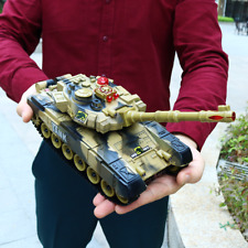 33CM Sound LED Ferngesteuerter RC Panzer ferngesteuert Kampfpanzer Modellbau DE