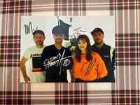 📸 Hideo Kojima Chvrches signed photo 6x8 inch coa