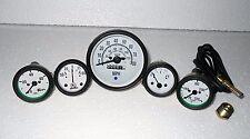 Willys Jeep MB GPW CJ Gauges Kit  Speedometer MPH KPH Temp Oil  Fuel  Amp Gauge