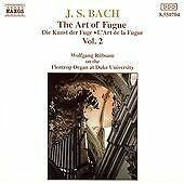 J.S. Bach: The Art of Fugue Vol. 2, Wolfgang Rubsam, Very Good Import