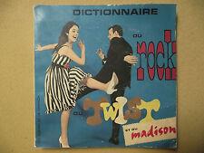 DICTIONNAIRE DU ROCK DU TWIST ET DU MADISON ÉDITIONS DE L'HEURE 1962 YÉYÉS RARE