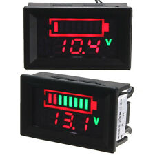LED Indicator Battery Capacity Digital Tester Voltmeter Acid Lead Batteries NEW