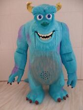 Disney Pixar Monsters Inc Talking, Moving Super Scare Sulley 2001 Hasbro