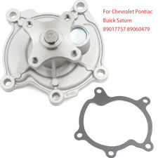 FOR Chevrolet Pontiac Buick Saturn New Water Pump w/ Gasket 890 60 479