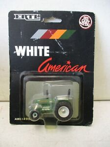 1990 Ertl White American 80 Series Front Wheel Assist Tractor