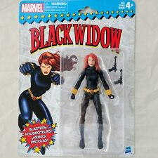 BLACK WIDOW Marvel Legends Super Heroes Vintage RETRO Carded 6-Inch Figure