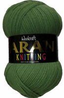 400g Woolcraft 25% Wool Aran Yarn - 848 - Rosado