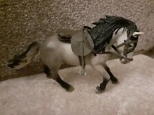 Schleich horse with hand made tack