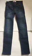 EUC Abercrombie Kids Dark Wash Skinny Jeans 10 R