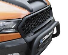 Schwarz matter Frontgrill Kühlergrill Ford Ranger Limited XL XLT Wildtrak 16-18