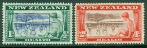 New Zealand. Health.1948. Set of 2. U.