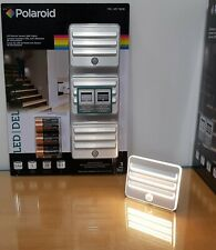 Polaroid Motion Sensor LED Wall Stair Recessed One Light 3 X AA Batteries