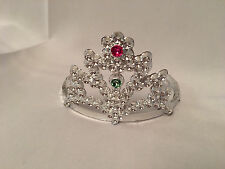 "Doll Princess Tiara Crown fits 18"" American Doll, Silver for Girl Clothes"