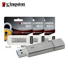 Kingston 8GB 16GB 32GB DataTraveler Locker+ G3 USB 3.0 Flash Pen Drive DTLPG3