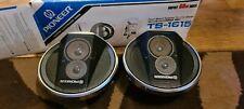 Pioneer TS 1615 Vintage Coche Altavoces. impresionante condición