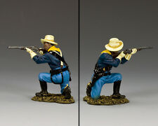 King & Country 10th Cavalry Trooper Kneeling and Firing TRW118 Buffalo Soldiers
