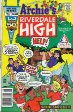 Riverdale High #7 (Newsstand) VG; Archie   low grade comic - save on shipping -