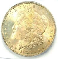 1879-P (1879) Morgan Silver Dollar $1 - ICG MS66+ PQ Plus Grade - $1,880 Value!