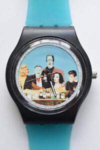 The Munsters watch  - Retro 80s Designer Wristwatch
