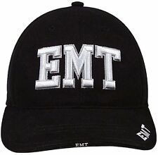 Deluxe EMT Low Profile Cap - Black 9381 Rothco