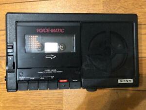 JUNK Sony Professional TCM-5000EV Cassette Recorder Voice-Matic Vintage FedEx [K
