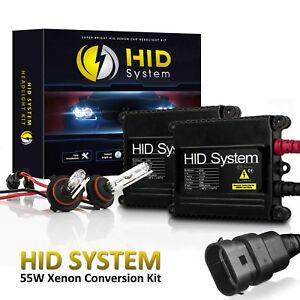 HidSystem Slim Xenon 55W 55WATT HID KIT H1 H3 H6m H4 H7 Specialty Headlight Bulb