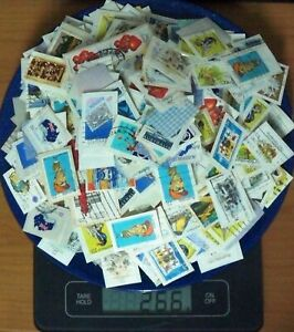 250g Australian Cancelled Stamps on Paper, 20c to 27c, Bulk Lot #2