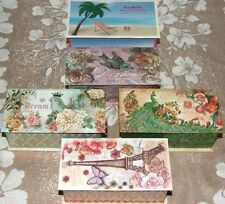 Rectangular Vintage/Retro Decorative Keepsake Boxes