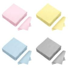 50/100Pcs Clean Cloth Polishing for Sterling Silver Gold Platinum Jewelry #Z
