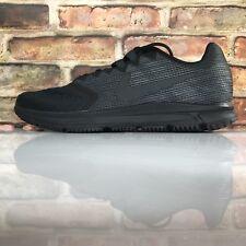 Nike Zoom Span 2 Mens Size 10.5 Running Shoe Training Black Dark Grey 908990 011