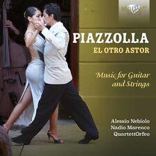 Piazzolla / Nebiolo - El Otro Astor - Music for Guitar & Strings [New CD]