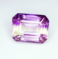 9.17 Loose Gemstone Natural Ametrine Ring Size Unheated Untreated Certified