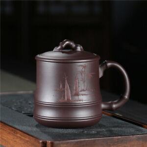 500ml Coffee cup office cup handmade zisha black tea tea cup Keep original aroma