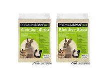 2 x 60 l Premiumspan® pet  Einstreu Kaninchen Kleintierstreu v. avi-complete