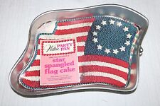 Wilton PARTY PAN, Star Spangled Flag Cake, #2105-2827, American Flag