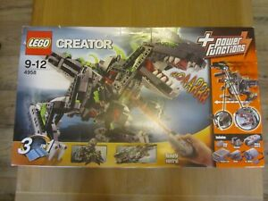 LEGO CREATOR 4958 MONSTER DINO 3 IN 1 NEW & SEALED