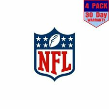 National Football League Nfl Logo 1 4 Stickers 4x4 Inches Sticker Decal