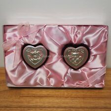 My First Curl & My First Tooth Boxes Heart Keepsake Baby Set - Pink Girl