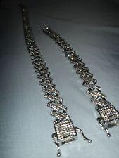 (Chain + Bracelet) Prong Chain Link Set